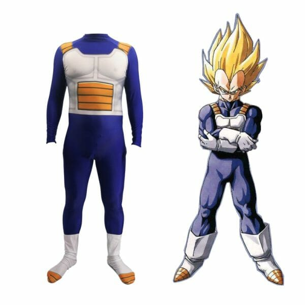 Dragon Ball Z Son Goku Halloween Cosplay Costume