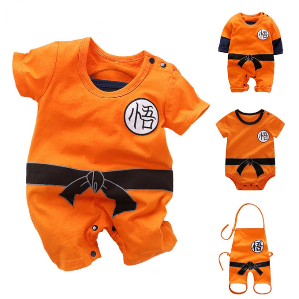 Dragon Ball Son Goku Cosplay Costume for Baby