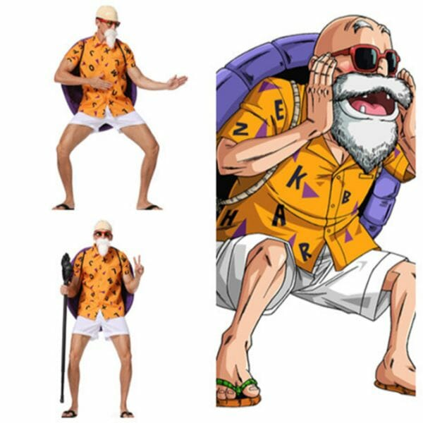 Dragon Ball Z Master Roshi Halloween Cosplay Costume