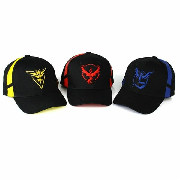 Pokemon Go Cotton Baseball Caps
