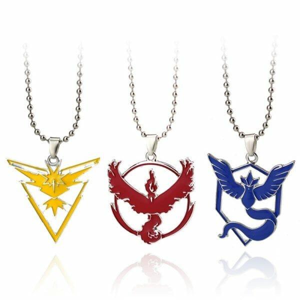 Pokemon Go Metal Pendant Necklace
