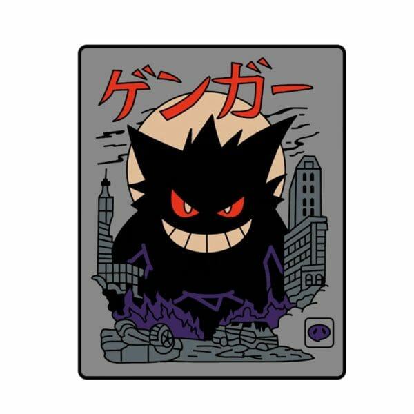 Pokemon Giant Gengar Badge Pins