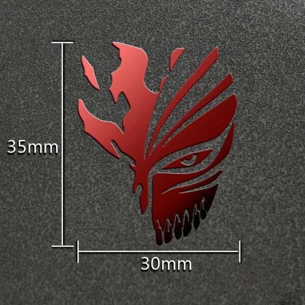Bleach Metal Decal for Laptop