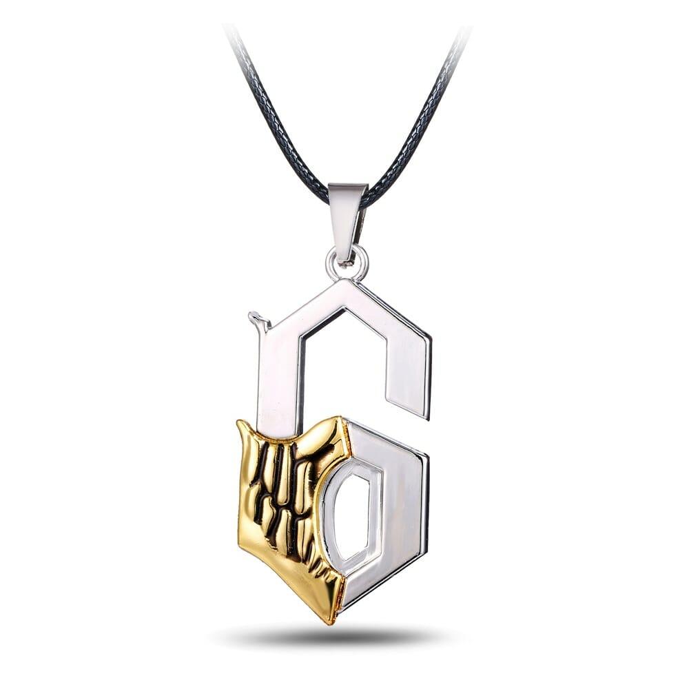 Bleach Grimmjow Jaegerjaquez Sexta Espada Pendant Necklace