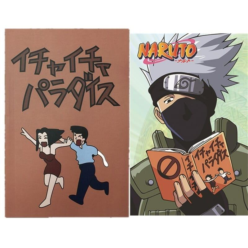 Naruto Hatake Kakashi Cosplay Book