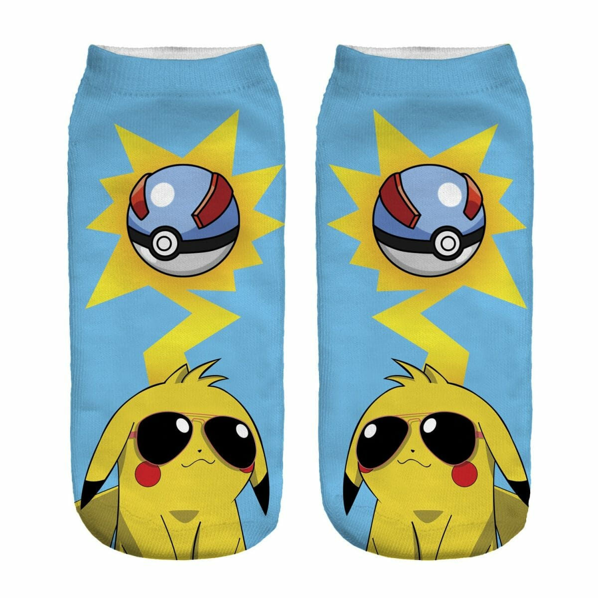 Pokemon Harajuku 3D Printed Socks