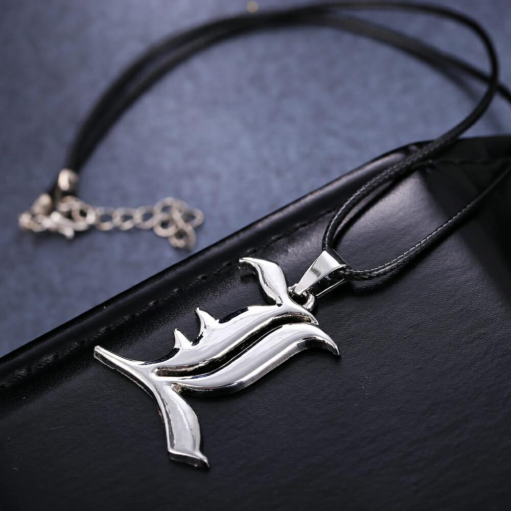 Death Note L Logo Pendant Necklace
