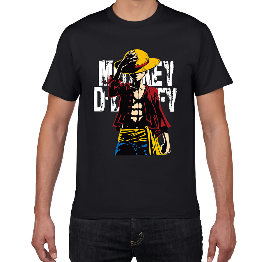 One Piece Monkey D. Luffy T-shirt 18 Styles