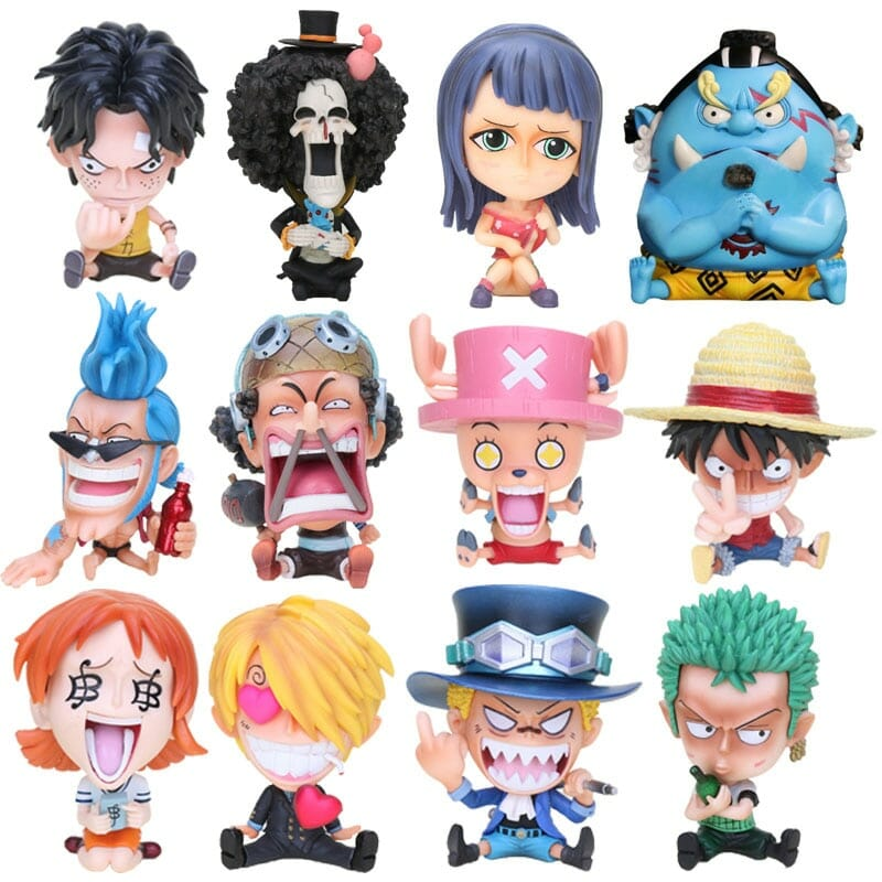 One Piece Characters Figure Q Version