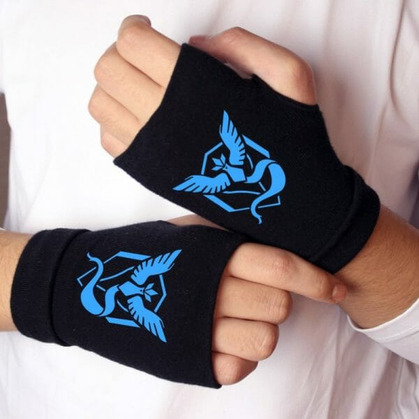 Pokemon Cosplay Props Knitting Gloves