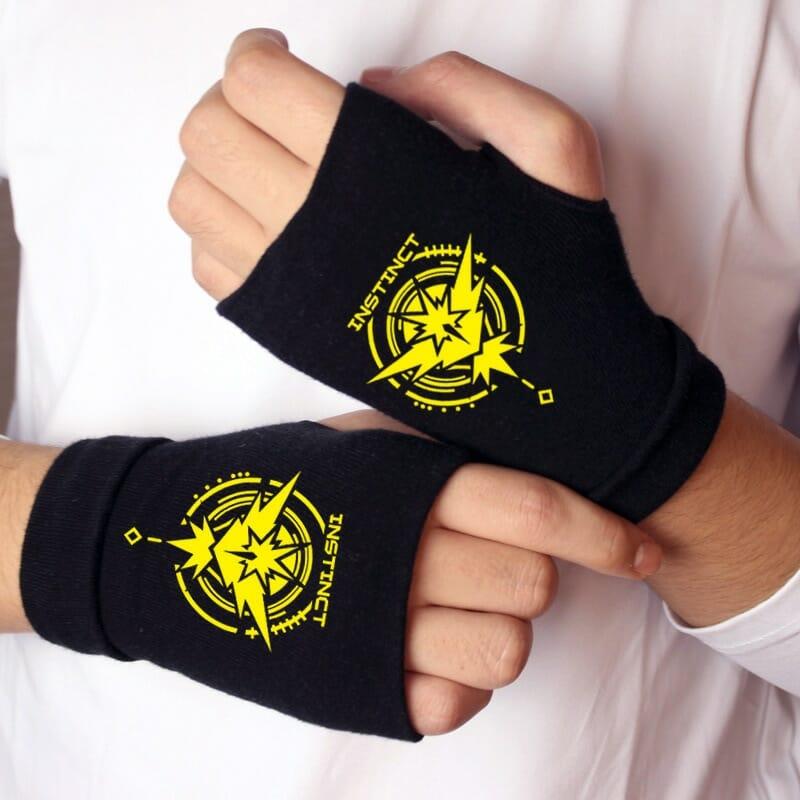 Pokemon Cosplay Props Knitting Gloves