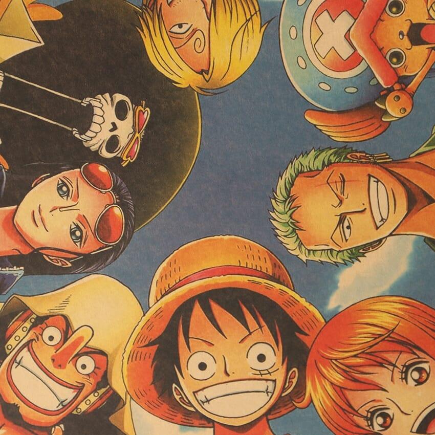 One Piece Straw Hat Pirates Poster
