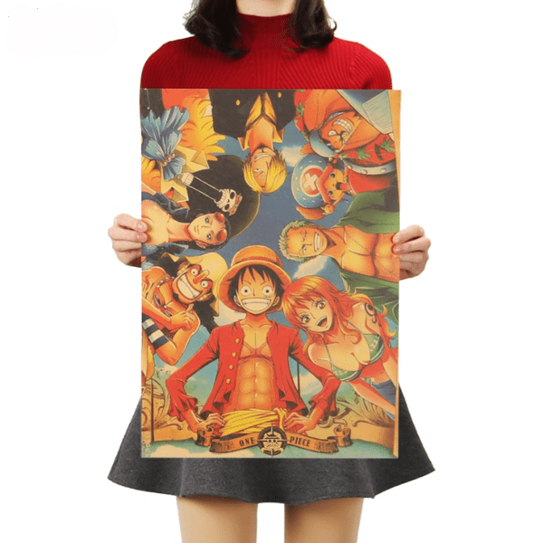 One Piece Straw Hat Pirates Poster