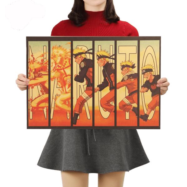 Naruto Vintage Wall Poster