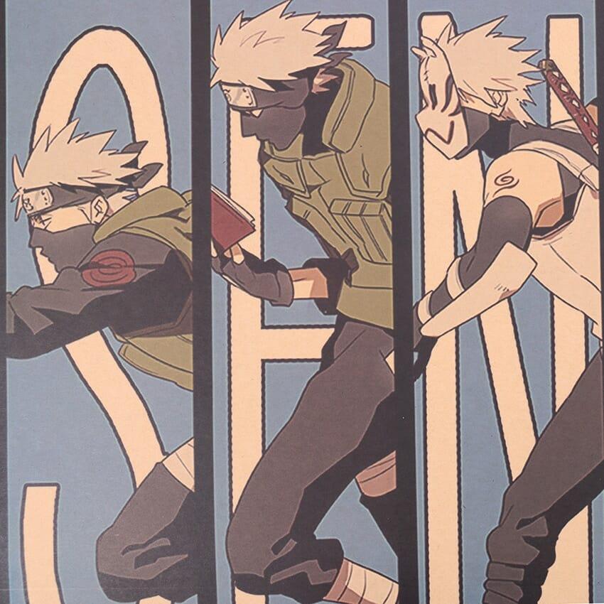 Naruto Hatake Kakashi Wall Poster