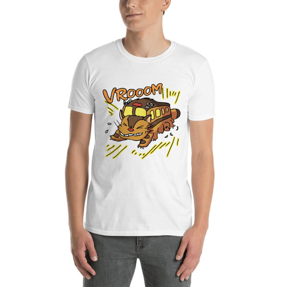 My Neighbor Totoro – Cat Bus T Shirt Unisex