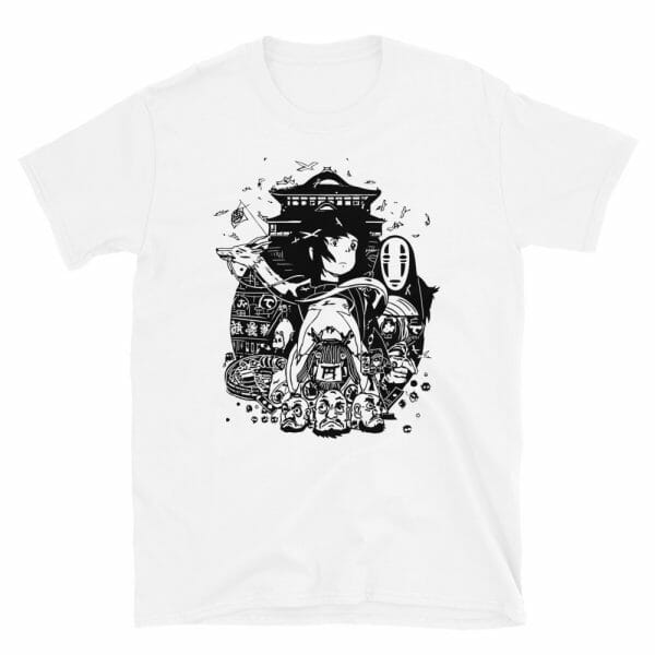 Spirited Away Art Collection T Shirt  Unisex