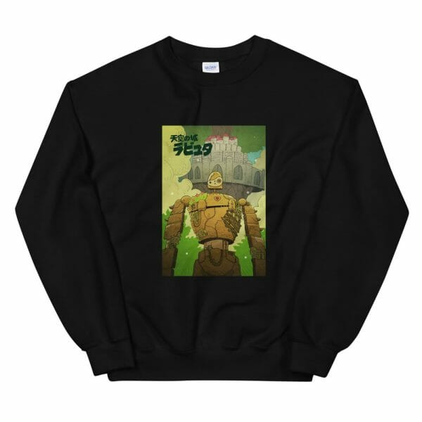 Laputa Castle in the Sky Robot Warrior Sweatshirt