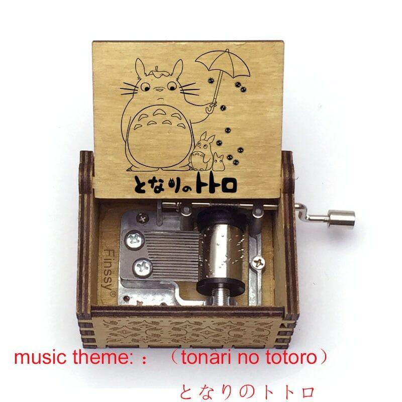 My Neighbor Totoro Tonari no Totoro Wooden Music Box