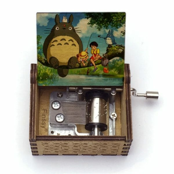 My Neighbor Totoro Tonari no Totoro Wooden Music Box