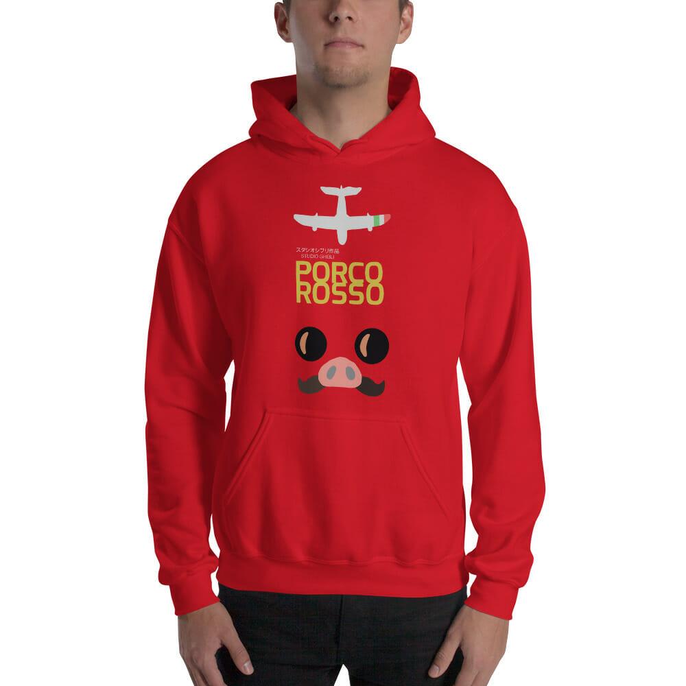 Porco Rosso Hoodie Unisex