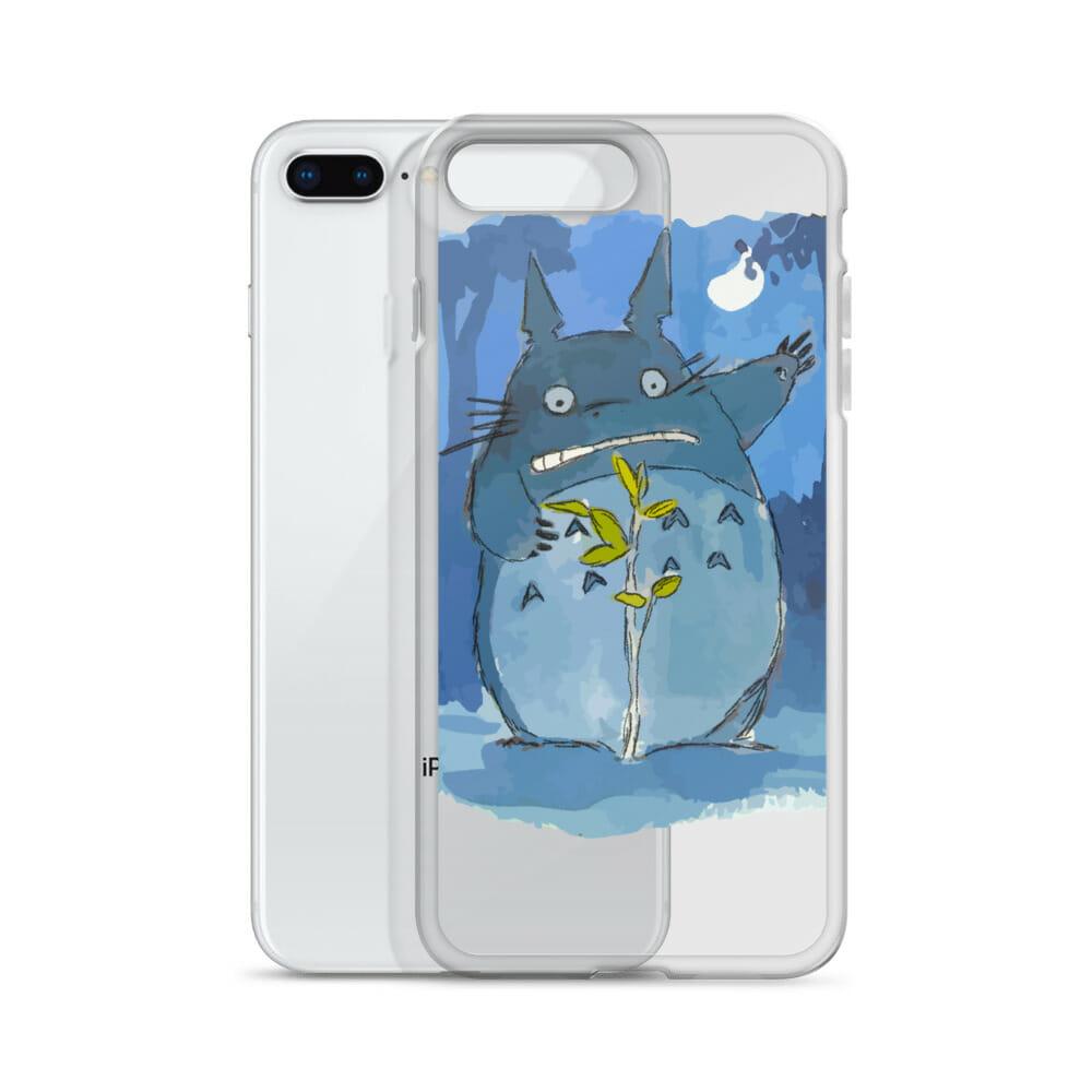 My Neighbor Totoro – Midnight Planting iPhone Case