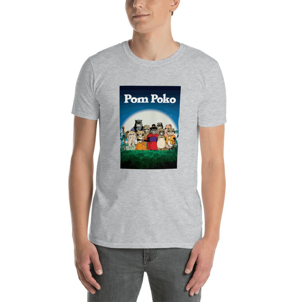 Pom Poko Poster T Shirt Unisex