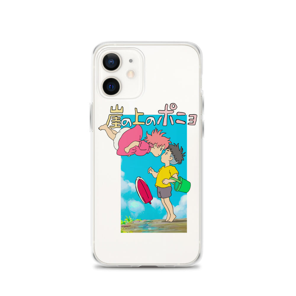 Ponyo On The Cliff By The Sea Poster iPhone Case
