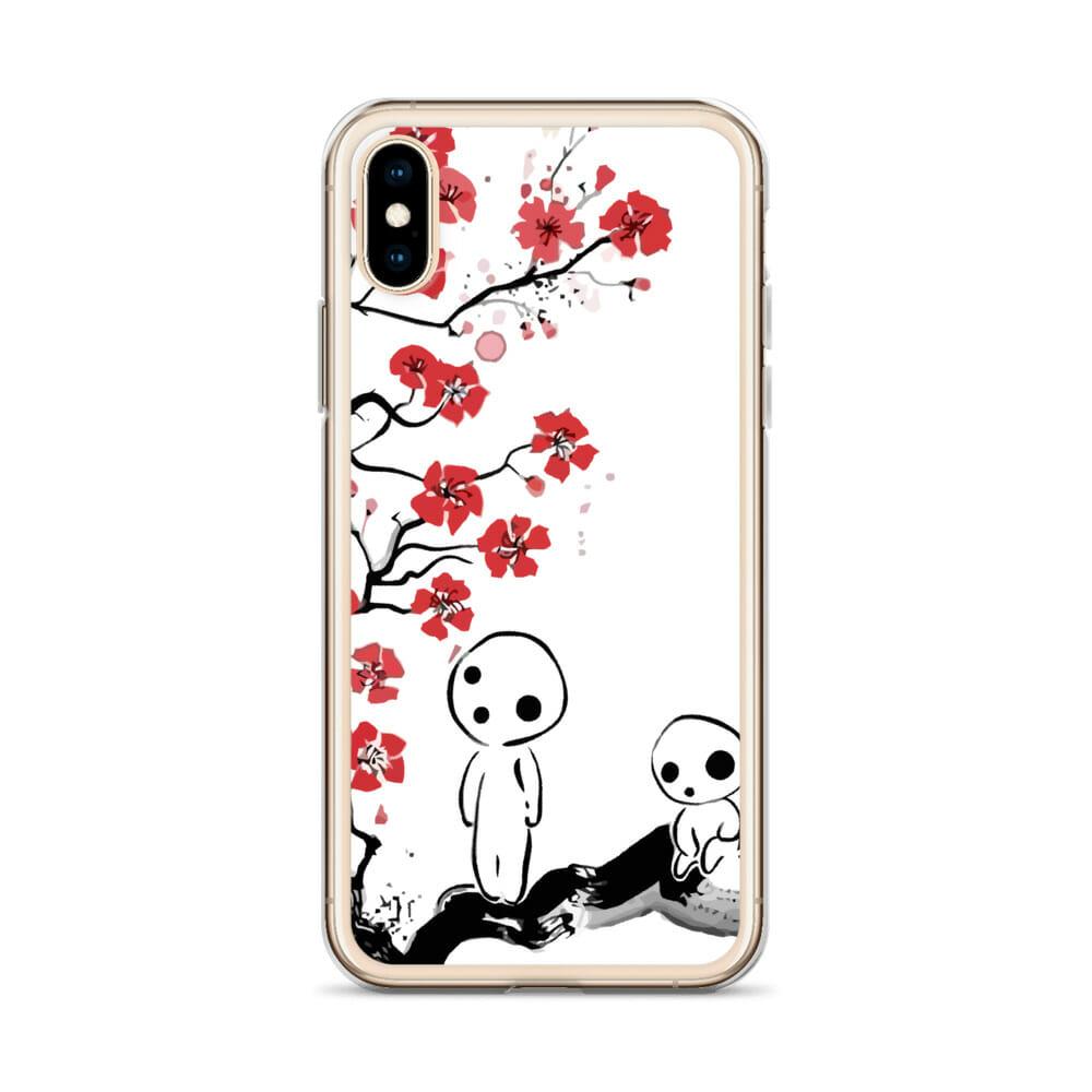 Princess Mononoke – Tree Spirits on the Cherry Blossom iPhone Case