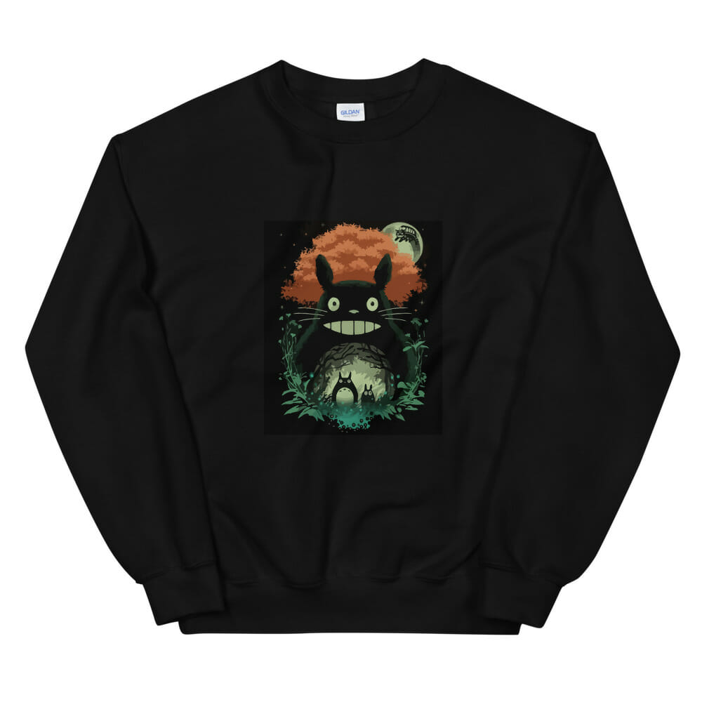 My Neighbor Totoro – The Magic Forest Sweatshirt Unisex