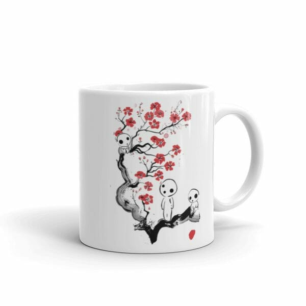 Princess Mononoke – Tree Spirits on the Cherry Blossom Coffee Mug