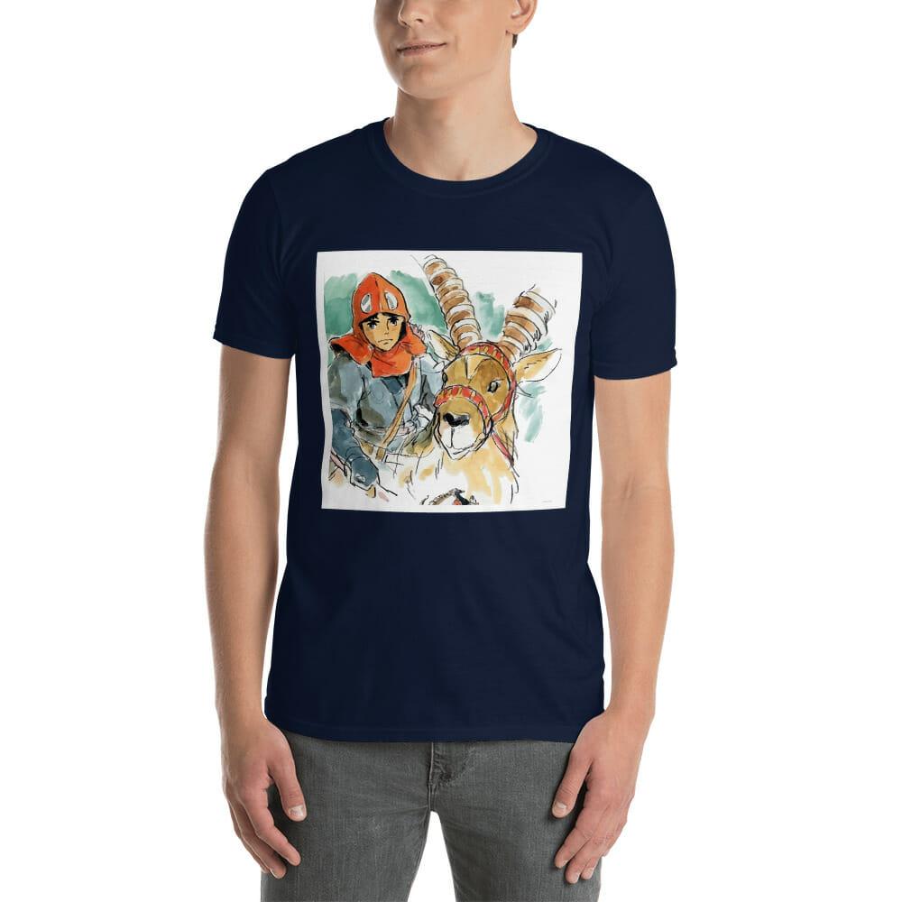 Princess Mononoke – Ashitaka Water Color T shirt