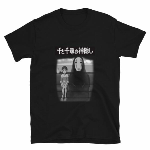 Spirited Away – Chihiro and No Face on the Train T Shirt