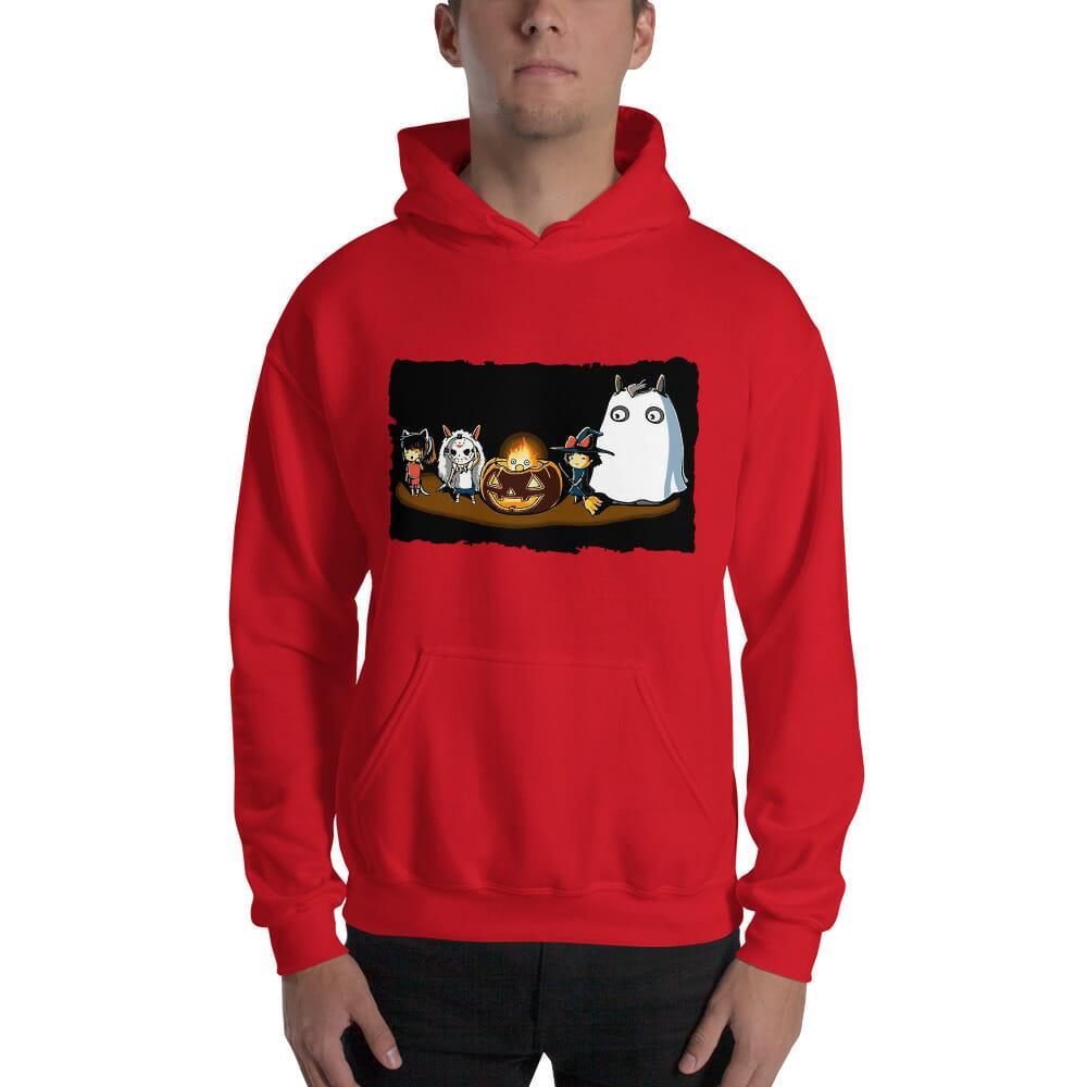 Ghibli Studio – Halloween Funny Party Hoodie Unisex