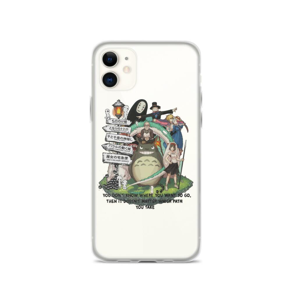 Studio Ghibli Hayao Miyazaki With His Arts iPhone Case