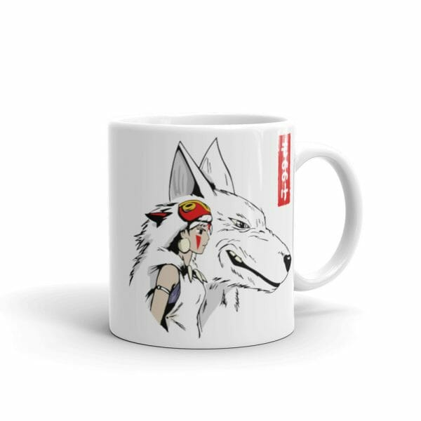 Princess Mononoke – San and The Wolf Mug