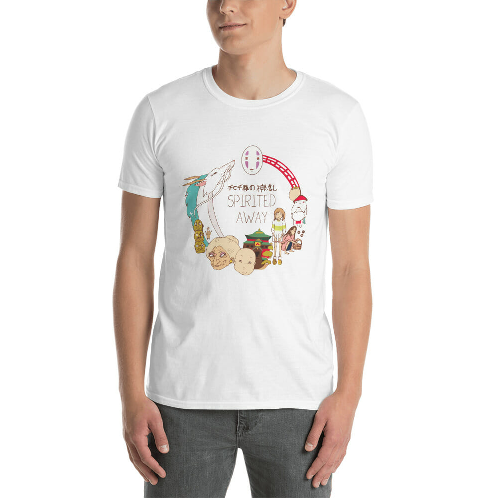 Spirited Away Compilation Characters T Shirt Unisex