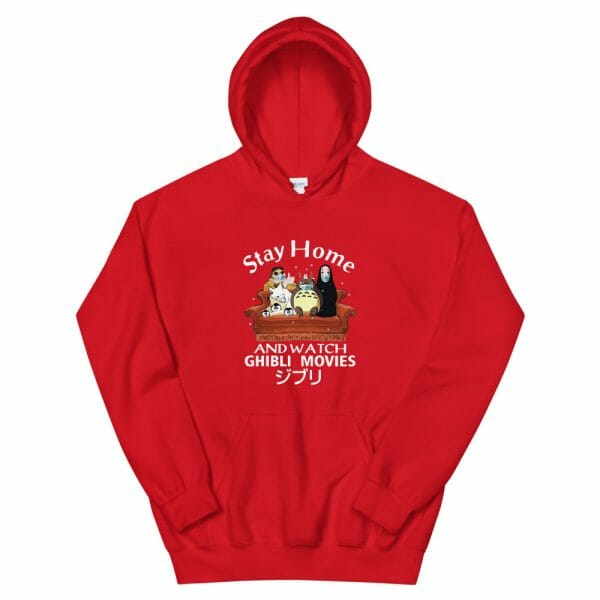 Stay Home and Watch Ghibli Movie T Shirt Unisex