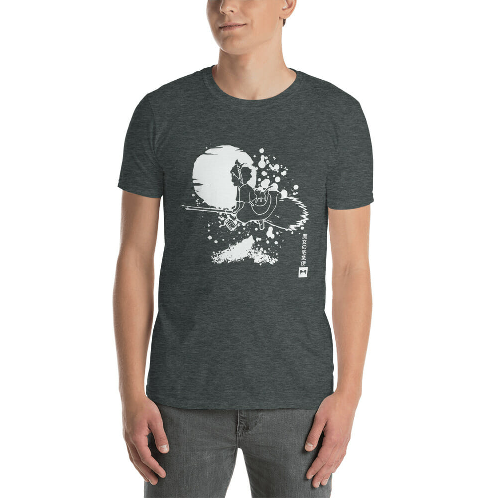 Kiki's Delivery Service – Flying in the night T Shirt Unisex