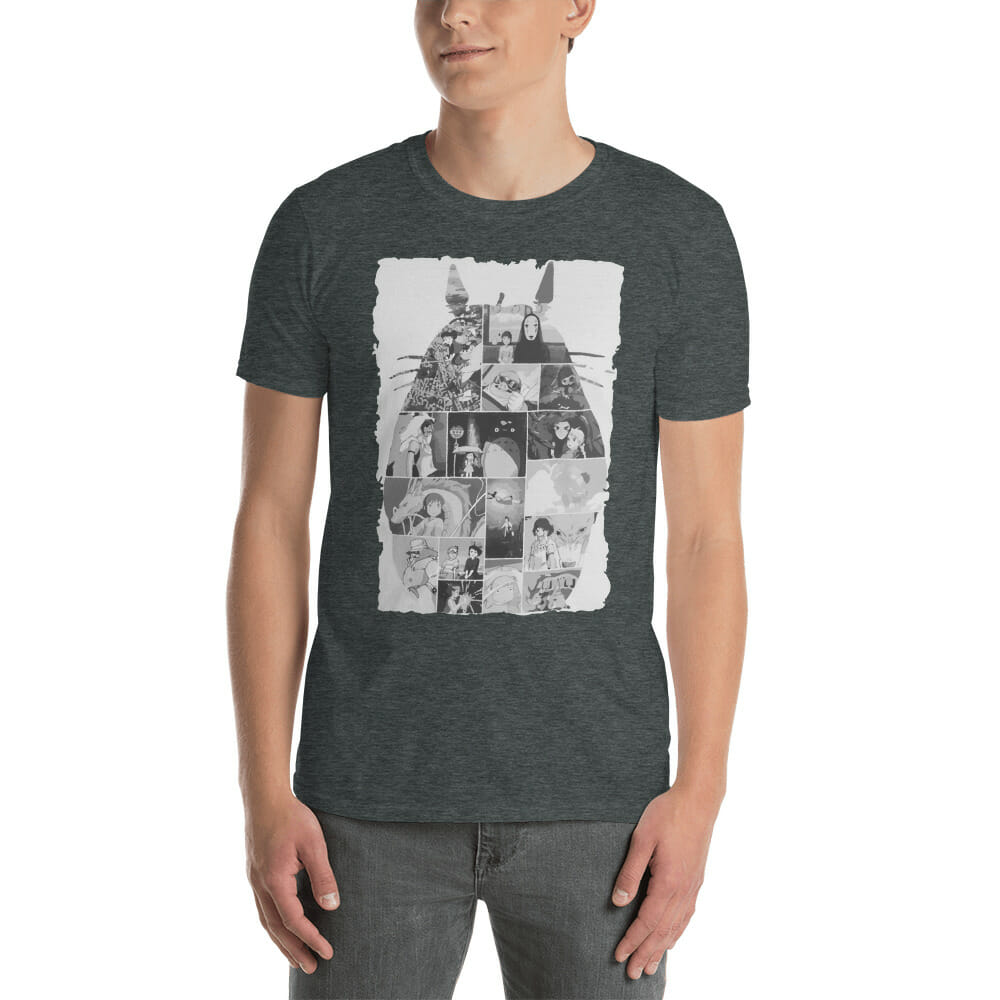 Ghibli Studio Collage Art T Shirt Unisex