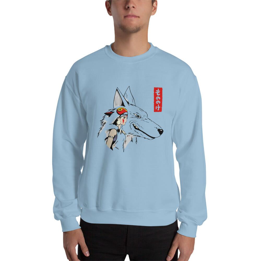 Princess Mononoke – San and The Wolf Sweatshirt Unisex