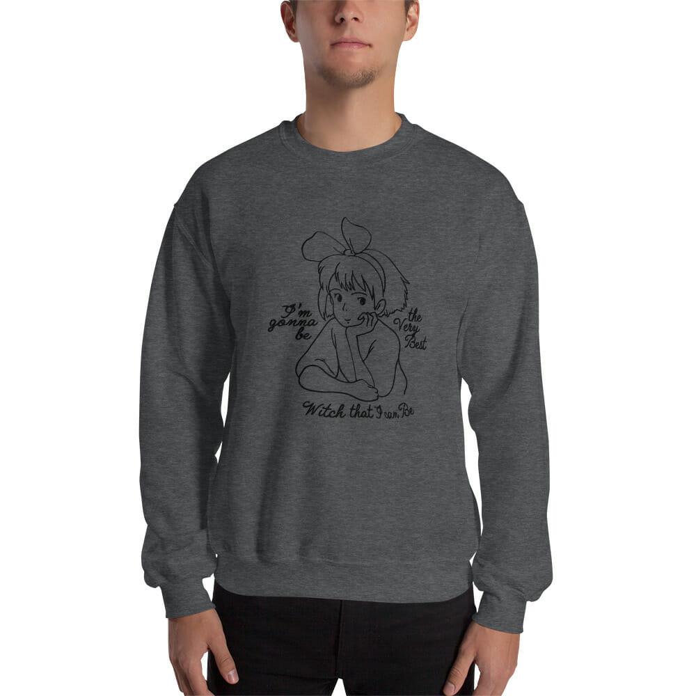 Kiki's Delivery Service – Kiki the Best Witch Sweatshirt Unisex