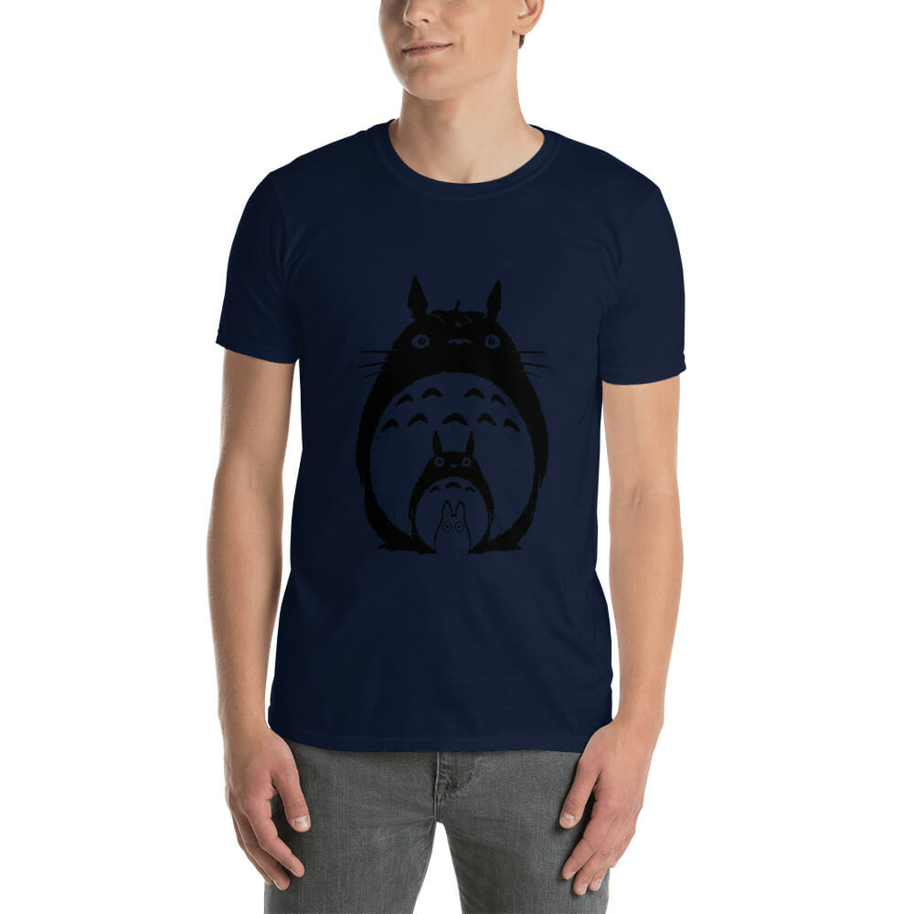 My Neighbor Totoro Black & White T Shirt Unisex