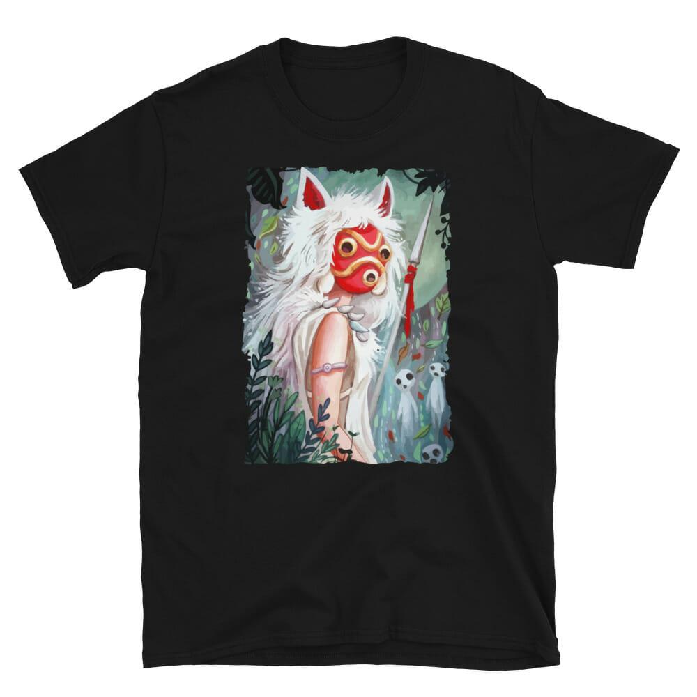 Princess Mononoke – Forest Guardian T Shirt Unisex