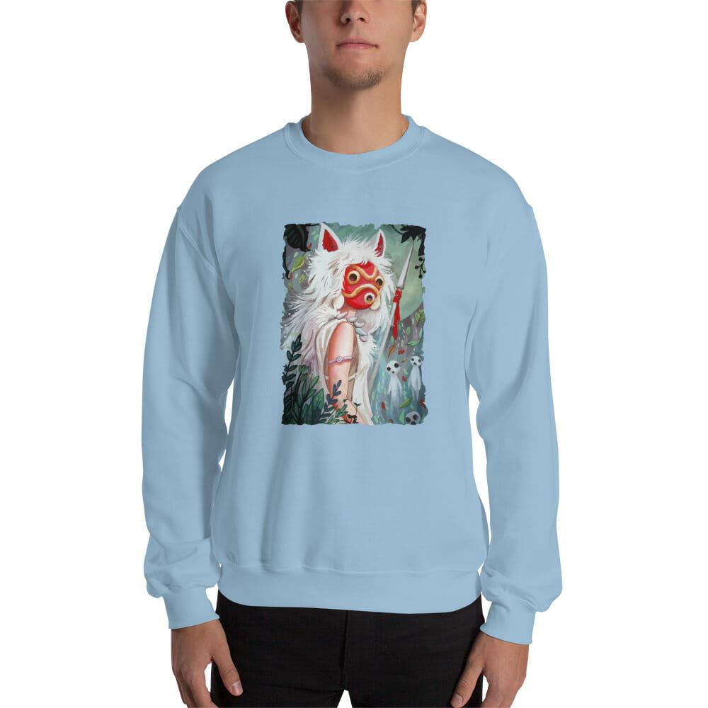 Princess Mononoke – Forest Guardian Sweatshirt Unisex