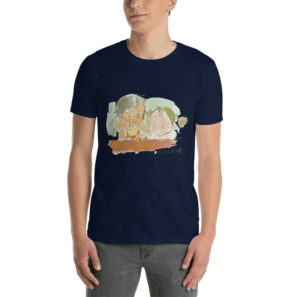 My Neighbor Totoro – Mei & Satsuki Water Color T Shirt