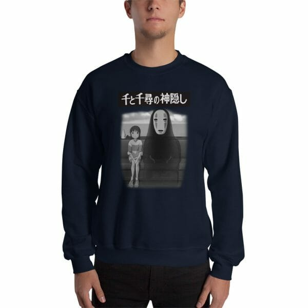 Spirited Away – Chihiro and No Face on the Train Unisex Sweatshirt