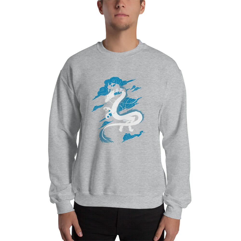 Spirited Away – Sen Riding Haku Dragon Sweatshirt
