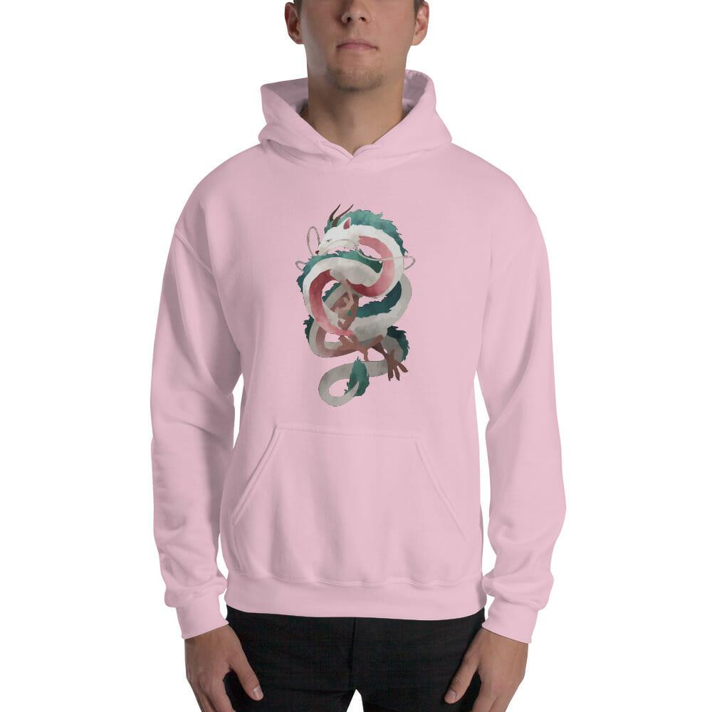 Spirited Away – Haku Dragon Hoodie Unisex