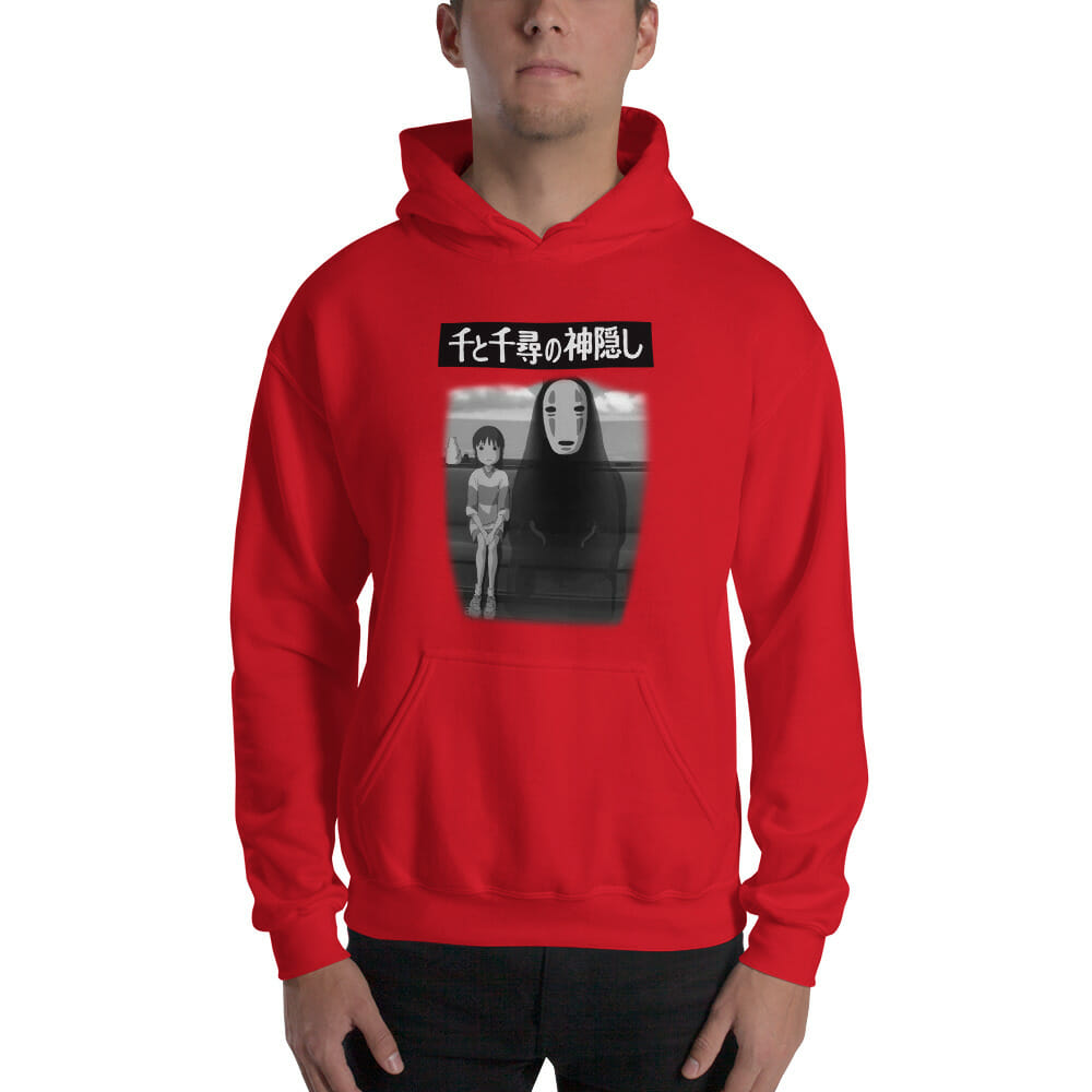 Spirited Away – Chihiro and No Face on the Train Hoodie